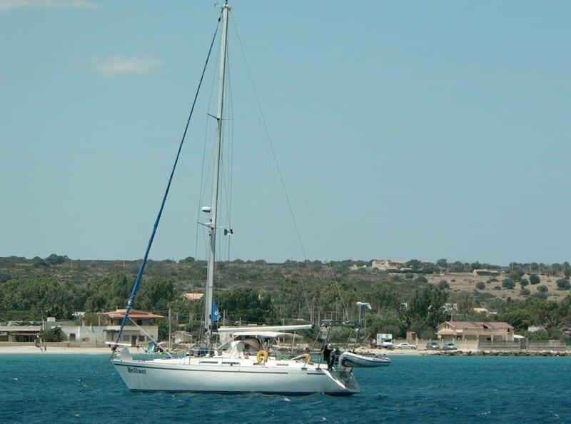 'The Brilliant' yacht after diesel pump refurbishment