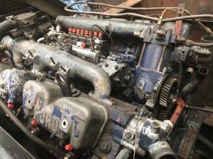 Avro Vulcan Tug Diesel Injector before refurbishment